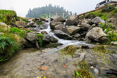 (HimzoIsić) Tags: landscape mountain mountainside village countryside rural creek stream water grass hill forest stone outdoor travel place