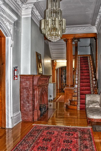 Paris Ontario - Canada - Penmarvian Retirement Home -  AKA - Riverview Hall - Interior Lobby