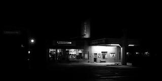 024693763692-103-Corner Liquor Store at Night-2-Black and White