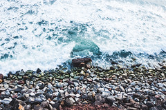 Blue Ocean (Top KM) Tags: water wave surf stones foam sea seascape seashore seaside ocean blue beautiful nature landscape outdoors outdoor outside no person nobody rocks tropical shore shoreline coastline colorful summer daylight daytime day