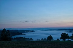 Das Alsenztal voller Nebel (kristine211) Tags: landschaft rheinlandpfalz nebel nature nordpfalz northpalatinate deutschland alsenztal donnersbergkreis natur sonnenaufgang pfalz palatinate