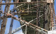 densly packed (rumimume) Tags: potd rumimume 2018 niagara ontario canada photo canon 80d canal seaway bridge day outdoor summer sun metal industrial liftbridge allenburg