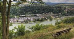 St.Goar am Rhein (oblakkurt) Tags: rhein stgoar schiffe bänke aussichten