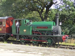 "Hudswell Clarke 0-6-0ST ""Wissington"" (Terry Pinnegar Photography) Tags: beamish museum countydurham locomotive shunter hudswellclarke leeds 1700 wissington bsc britishsugarcorporation countessofwarwick steam"