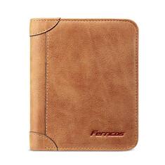 100% Genuine Leather Men Wallets Vintage Trifold Wallet Short Wallet Card Holder (1211941) #Banggood (SuperDeals.BG) Tags: superdeals banggood bags shoes 100 genuine leather men wallets vintage trifold wallet short card holder 1211941