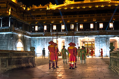 Changing of the Guard, Hue, Vietnam (KSAG Photography) Tags: hue vietnam asia southeastasia unesco heritage history war palace architecture people nikon hdr night nightphotography city urban wideangle hdrphotography september 2017 travel tourism