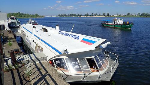 We are going from Kazan to Sviyazhsk, Tatarstan. It's the Kazan River Port. ©  The Chuvash people of Krasnoyarsk region