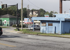 Tucker, GA (N.the.Kudzu) Tags: suburban landscape dekalbcounty tucker georgia buildings canondslr manualfocus primelens zenitar50mmf12 lightroom