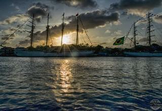 Esmeralda at sunset