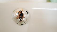 morning I (Hagbard_) Tags: self selfportrait portrait wide lense photography tone warmtones weitwinkel badewanne