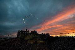 Edinburgh Military Tattoo 2018-22 (Philip Gillespie) Tags: edinburgh scotland canon 5dsr military tattoo international 2018 100 years raf army navy the sky is limit edintattoo raf100 edinburghtattoo people crowd fun lights fireworks dancing dancers men women kids boys girls young youth display planes music musicians pipes drums mexico america horses helicopters vip royal tourist festival sun sunset lighting band smiles red blue white black green yellow orange purple tartan kilts skirts castle esplanade historic annual