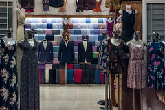 Heads Off (petemenzies.com) Tags: display mannequins creepy fashion vietnam travel faces models asia shop dress fabric clothing clothes arrangement