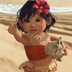 To the sea (daisypea) Tags: daisy crowley second life secondlife photo art photography toddler tot roleplay pg bebe