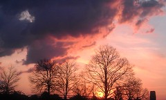 Penns Landing Sunrise (dweible1109) Tags: magichour s4 samsung sky clouds sunrise pennsylvania philadelphia pennslanding