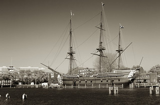 Ship of the United East Indian Company, East Indiaman _3595