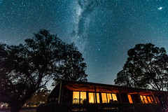 The Night Sky (Merrillie) Tags: nsw astronomy milkyway astrophotography australia nightsky gresford stars sky night newsouthwales astro glitter landscape planetary lights country outside tree winter house outdoors galaxy astrology
