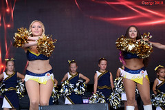 Phönix Hagen Dance Team 024 (Serge Pellkatov) Tags: phönixhagendanceteam cheerleader cheerdance cheerleading springefest hagen 2018 girls legs sexy hot dance