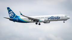 Boeing 737-990(ER)(WL) N448AS Alaska Airlines (William Musculus) Tags: seattle tacoma airport seatac ksea sea spotting burien washington étatsunis us n448as alaska airlines boeing 737990erwl 737900er as asa william musculus