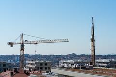 crane (Anita Pravits) Tags: baustelle kran rudolfsheimfünfhaus vienna wien crane site