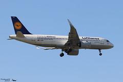 Airbus A320 -271N LUFTHANSA D-AIND 7078 Francfort mai 2018 (Thibaud.S.) Tags: airbus a320 271n lufthansa daind 7078 francfort mai 2018 firsttoflyneo sticker