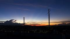 Sunset BH (AdrianoSetimo) Tags: belohorizonte pôrdosol sunset landscape goldenhour minasgerais bh olympus olympusomdem10mkii 1240mm olympusmzuikodigitaled1240mmf28pro bluesky mft m43 microfourthirds