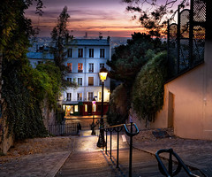 Montmartre (photoserge.com) Tags: montmartre paris light stairs cityscape