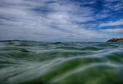 Being Your Sky (Keith Midson) Tags: water cliftonbeach sea ocean sky tasmania waves liquid
