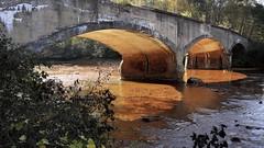 The Bridge At Rio de Sangre (95wombat) Tags: abandonedbridge poisonedriver taintedwater old decrepit decayed derelict coal pennsylvania