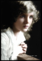 Mary Miles Minter 1902 - 1984 (oneredsf1) Tags: actress american colorized silent minter miles mary