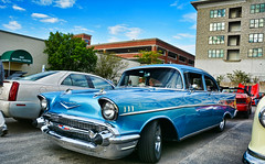 1957 Chevy 210 (Chad Horwedel) Tags: 1957chevy210 chevy210 chevy chevrolet 210 classic car downersgrove illinois