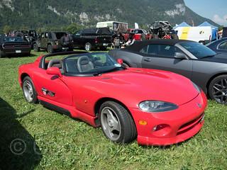 Burn Out US Car & Bike Festival, Airport Mollis, Canton of Glarus, Switzerland