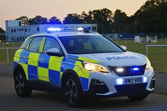 KM17 VKD (S11 AUN) Tags: northamptonshire northants police peugeot 3008 4x4 crossover fleet spare panda car incident response vehicle irv 999 emergency km17vkd