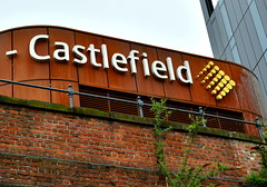 Castlefield (Tony Worrall) Tags: gmr manchester manc city northwest update place location uk england north visit area attraction open stream tour country item greatbritain britain english british gb capture buy stock sell sale outside outdoors caught photo shoot shot picture captured castlefield sign signage rusty modern past