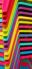 Calgary001_82 (janetliz) Tags: calgary alberta spring plastic chairs pile colourful