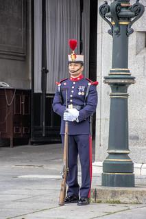 at Royal Palace of Madrid