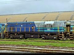 D-1003 de Fepasa (EMD G8). - Talcahuano, Chile. (Trenes Septima) Tags: fepasa 1003 d1003 emd emdg8 g8 korail talcahuano elarenal tren trenes trenesdechile train trains