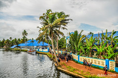 Alappuzha [Allepey], India (Ben Perek Photography) Tags: alappuzha allepey kerala backwaters india asia backpackers travel river canals water boat boats school kids