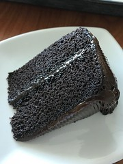 Chocolate Chocolate Cake from Texas Orthopedic Hospital in Houston, Texas. (shark44779011) Tags: hip food me