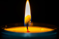 Eternal flame (Carandoom) Tags: eternal flame 2018 nice france summer angel red fire burn forever macro candle