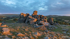 Golden Hounds (www.neilporterphotography.com) Tags: hound dartmoor devon east england hill moor moorland outcrop south sunrise tor uk west