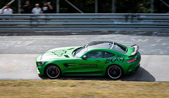 BEAST of the Green Hell (bramtop_1990) Tags: mercedes benz mb amg gtr r green hell monster beast driving training academy circuit racecar racing spoiler grüne hölle nikon d610 tamron 70200 mm f28 vc panning pan track strecke karussell carousel curve v8 grün groen rwd
