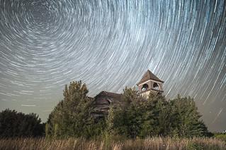 Star Trails over Elmira