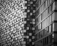 Urban abstract (Dun.can) Tags: sheffield urban abstract architecture blackwhite monochrome stpaulscitylofts arundelgate cheesegrater yorkshire