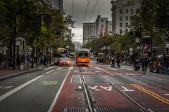 San Fransisco , California (Davidpaez27) Tags: marketstreet sanfransisco california troley street city sf bus