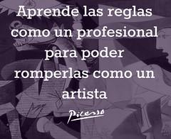 Picasso (pryflores) Tags: artistas frases