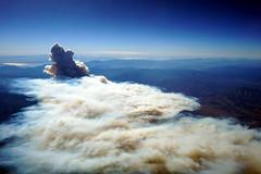 Wildfire from above near Duchesne, Utah (mattk1979) Tags: wildfire fire smoke aerial mountain dollarridge utah duchesne unitedstatesofamerica usa plane window above hills