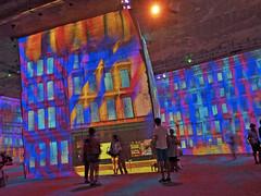 Carrières de Lumières (kama17) Tags: bauxdeprovence carrièresdelumières expo exposition colors couleurs projection murs picasso peintreespagnol tableau peinture artistique multimédia