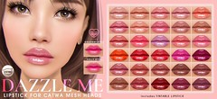 [Pink Fuel] CATWA LIPSTICK - Dazzle Me (Mochi Milena) Tags: catwa lipgloss lipstick