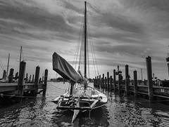Bull (johngoucher) Tags: approved boat boad sailboat annapolis dta downtownannapolis maryland annapolisyachtbasin dock ropes sailing summer outdoors blackandwhite bnw blackwhite bw sky sea water pier piers sails sonyimages sonyalpha rokinon12mm wideangle wideanglelens