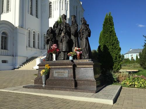 Памятник семье последнего русского Императора, Дивеево